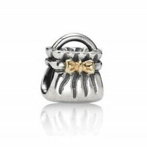 Pandora Bow Purse Bead Charm